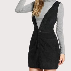 Shein Buttoned Pinafore / Overall Dress